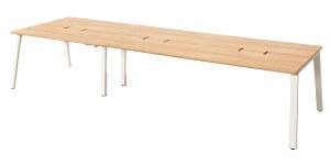 MRフリースタイルデスク 幅360cm 奥行120cm ミーティングテーブル フリーアドレステーブル おしゃれ ダイニングテーブル